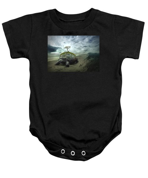 Iroquois Creation Story Baby Onesie