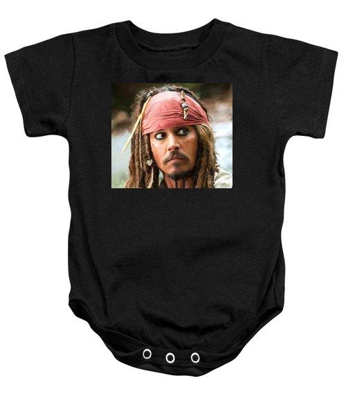 Jack Sparrow Baby Onesie