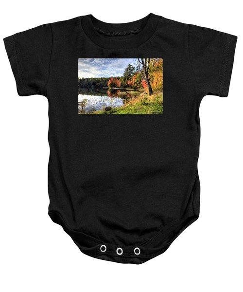Jamie's Pond Baby Onesie