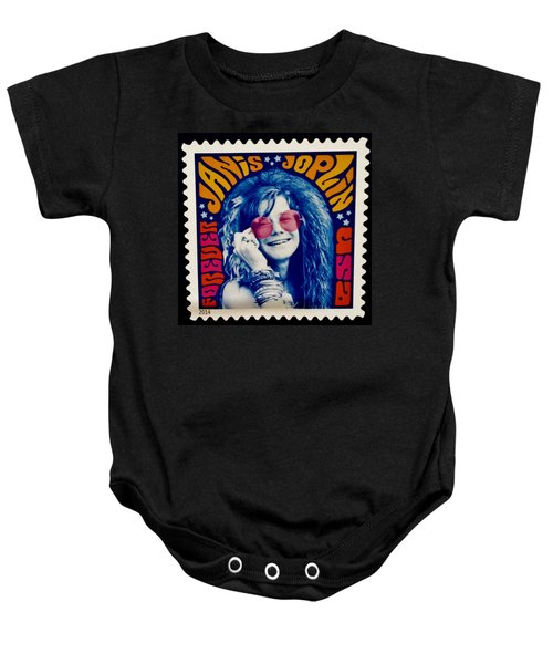Janis Stamp In A Groovy Vibe Baby Onesie