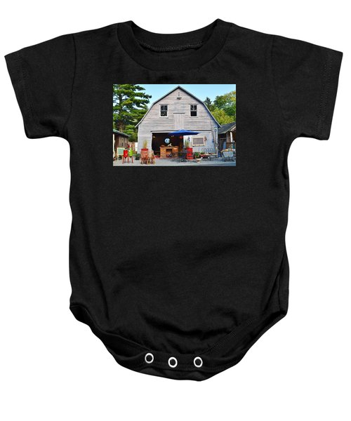 The Old Barn At Jaynes Reliable Antiques And Vintage Baby Onesie