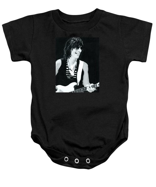 Jeff Beck-emotion And Commotions Baby Onesie