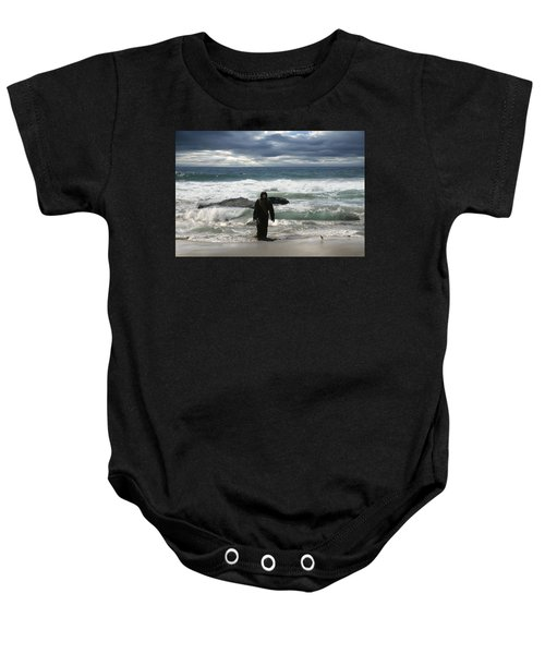 Jesus Christ- Behold I Come Quickly Baby Onesie