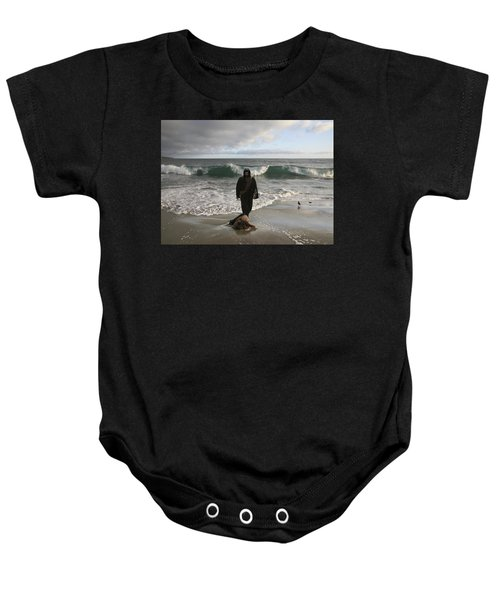 Jesus Christ- I Love You So Much Don't Cry I'm Here Baby Onesie