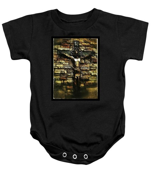 Jesus Coming Into View Baby Onesie