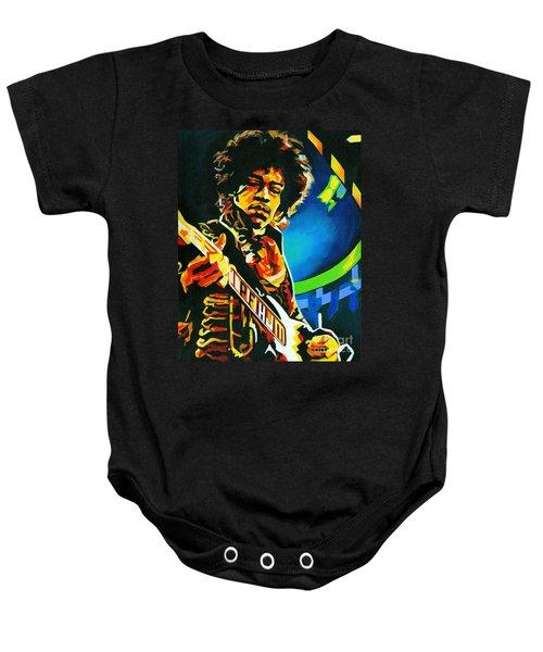 Bold As Love. Jimi Hendrix  Baby Onesie