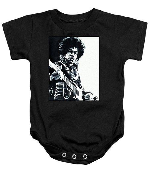 James Marshall Hendrix  Baby Onesie
