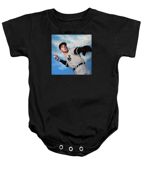 Joe Dimaggio Baby Onesie by Paul Meijering