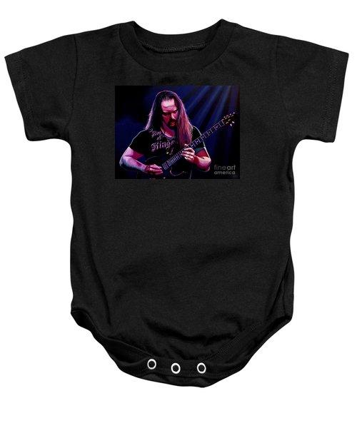 John Petrucci Painting Baby Onesie