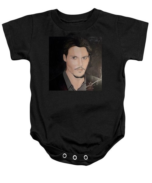 Johnny Depp - The Actor Baby Onesie