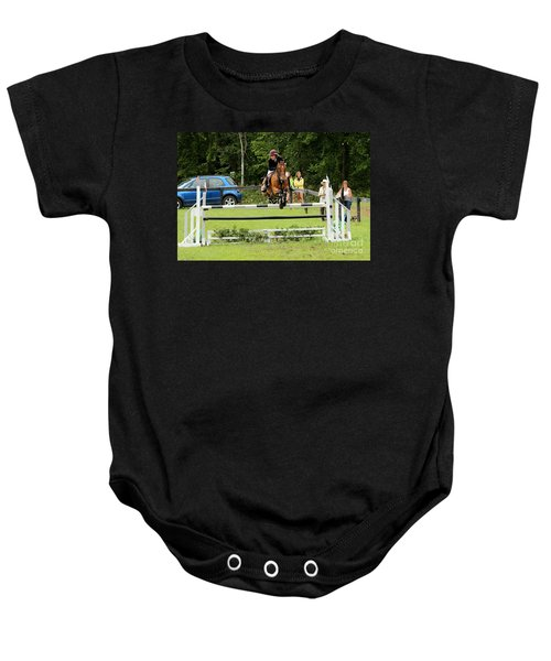 Jumping Eventer Baby Onesie