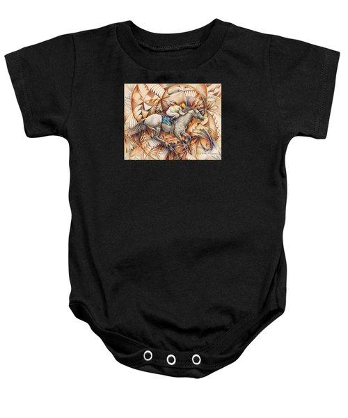 Kaleidoscope Rider Baby Onesie
