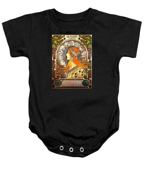 La Plume Zodiac Baby Onesie