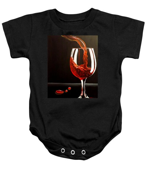 Lady In Red Baby Onesie