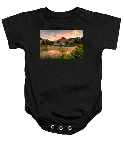 Lake Catherine Baby Onesie