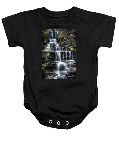 Lake Park Waterfall Baby Onesie