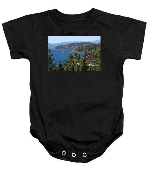 Lake Tahoe Nevada Baby Onesie