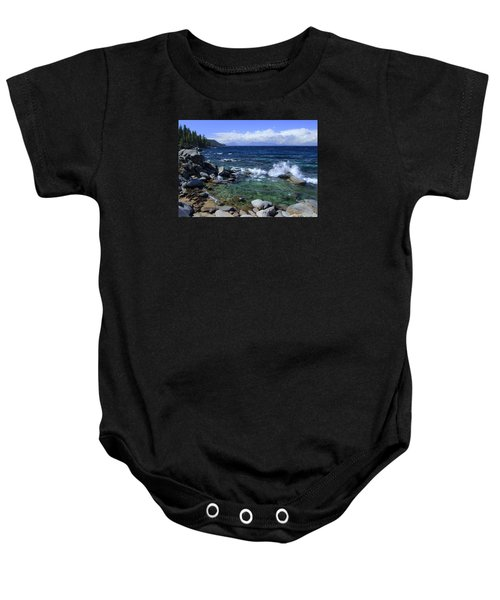 Lake Tahoe Wild  Baby Onesie