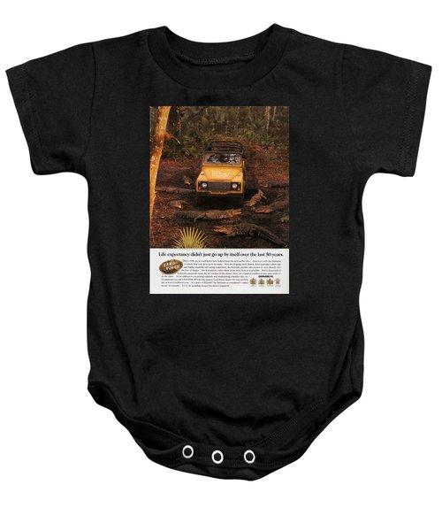 Land Rover Defender 90 Ad Baby Onesie