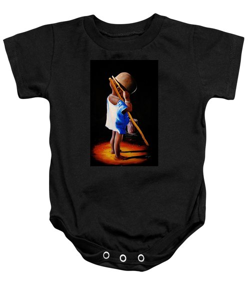 Last Of The Stew Baby Onesie