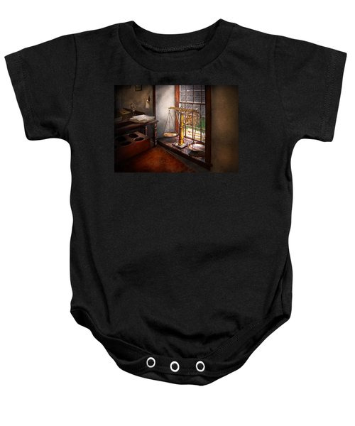 Lawyer - Scales Of Justice Baby Onesie