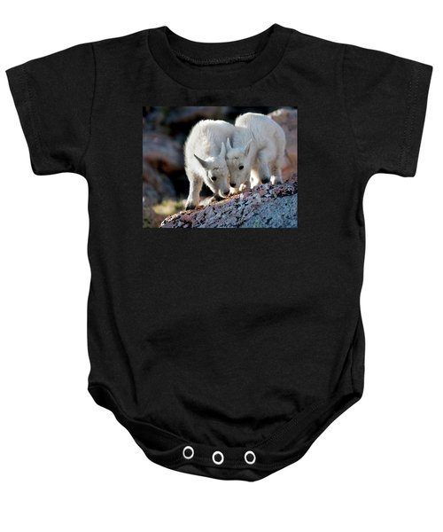 Lean On Me Baby Onesie
