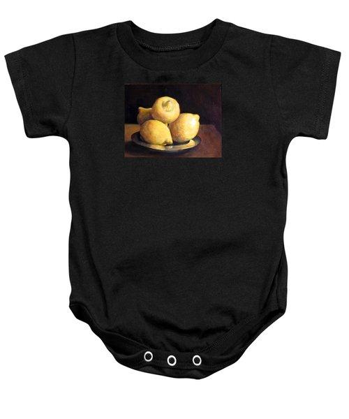 Lemons Baby Onesie