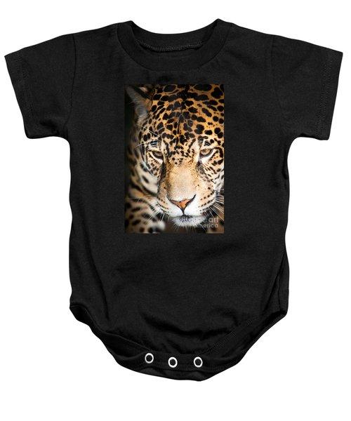 Leopard Resting Baby Onesie