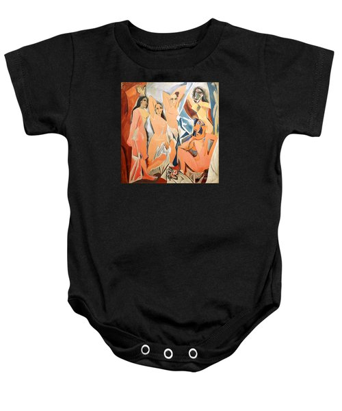 Les Demoiselles D'avignon Picasso Baby Onesie