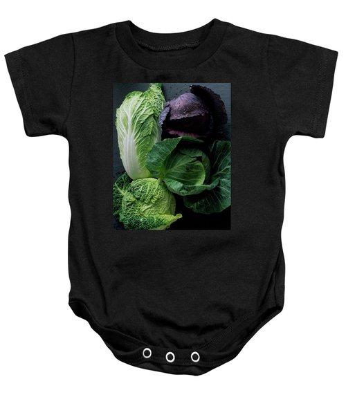 Lettuce Baby Onesie by Romulo Yanes