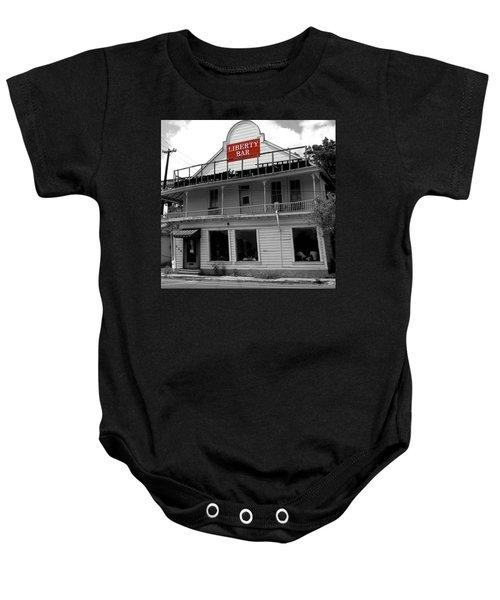 Liberty Bar  Baby Onesie