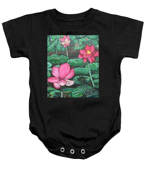 Lillies Baby Onesie