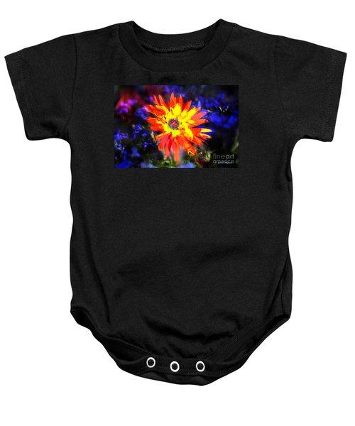 Lily In Vivd Colors Baby Onesie