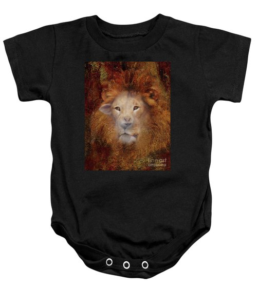 Lion Lamb Face Baby Onesie