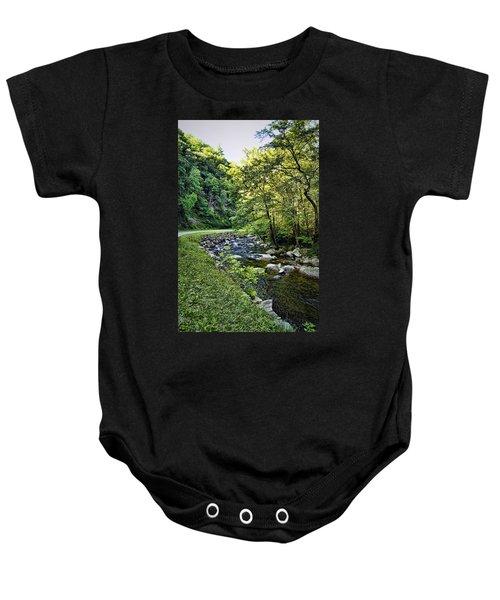 Little River Road Baby Onesie