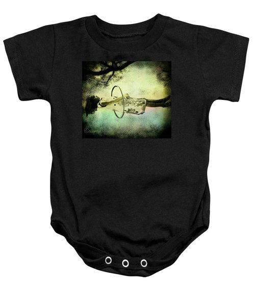 Living In The Fear Baby Onesie
