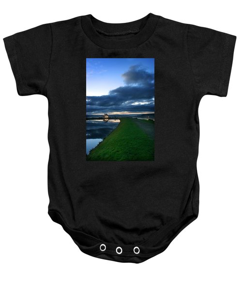 Lock House Baby Onesie