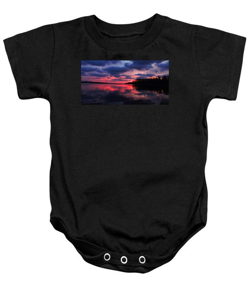 Locust Sunset Baby Onesie