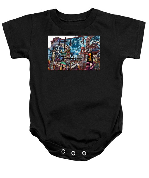 Lombard And Broad Baby Onesie