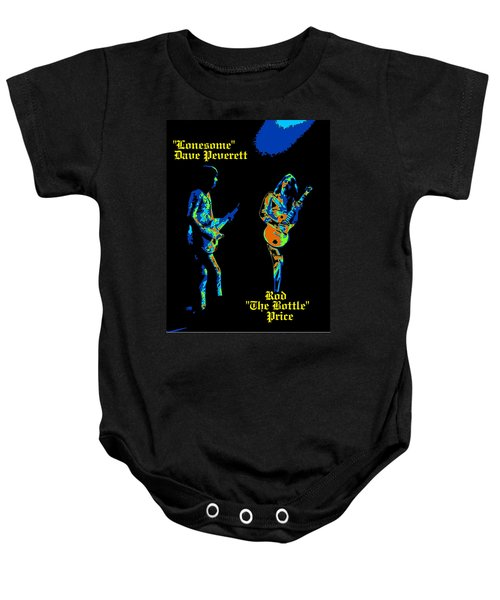 Lonesome Dave And Bottle Rod Baby Onesie