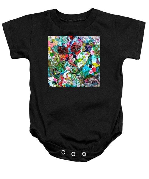 Looking Through Baby Onesie by Bellesouth Studio