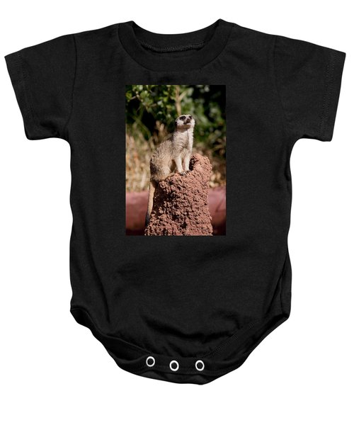 Lookout Post Baby Onesie by Michelle Wrighton