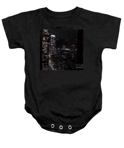 Los Angeles Nightscape Baby Onesie