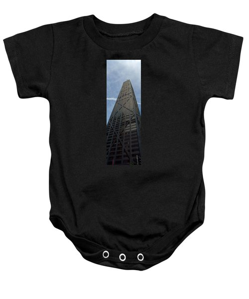 Low Angle View Of A Building, Hancock Baby Onesie by Panoramic Images