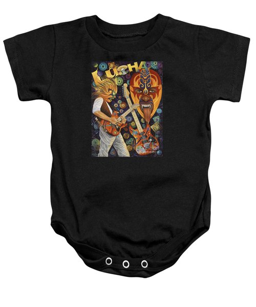 Lucha Rock Baby Onesie