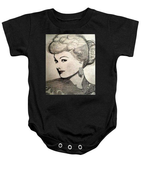 Lucille Ball Baby Onesie