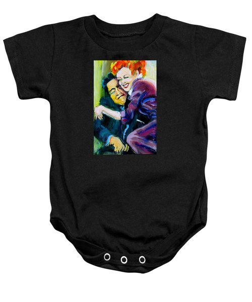 Lucy And Ricky Baby Onesie