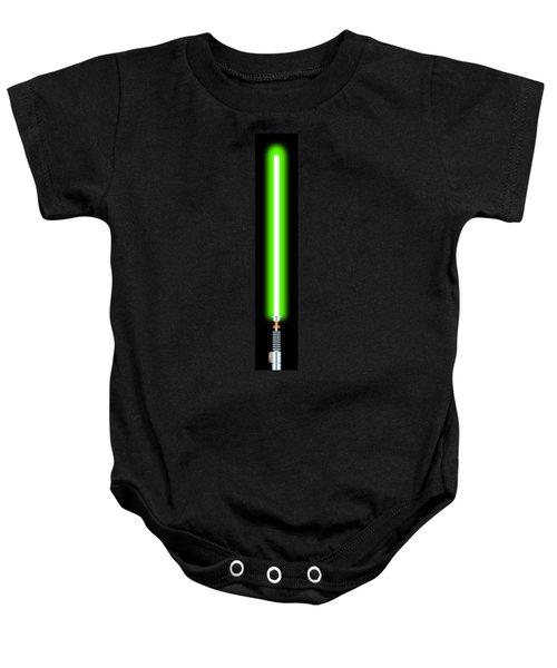 Luke's Lightsaber II Baby Onesie