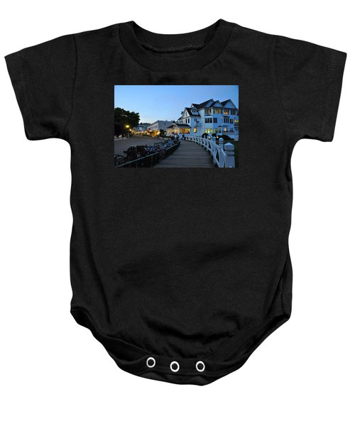 Mackinac Island At Dusk Baby Onesie