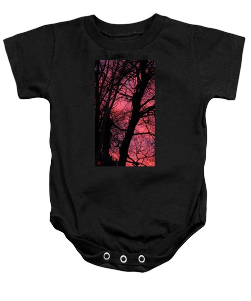 Baby Onesie featuring the photograph Magic Sunset  by Colette V Hera  Guggenheim